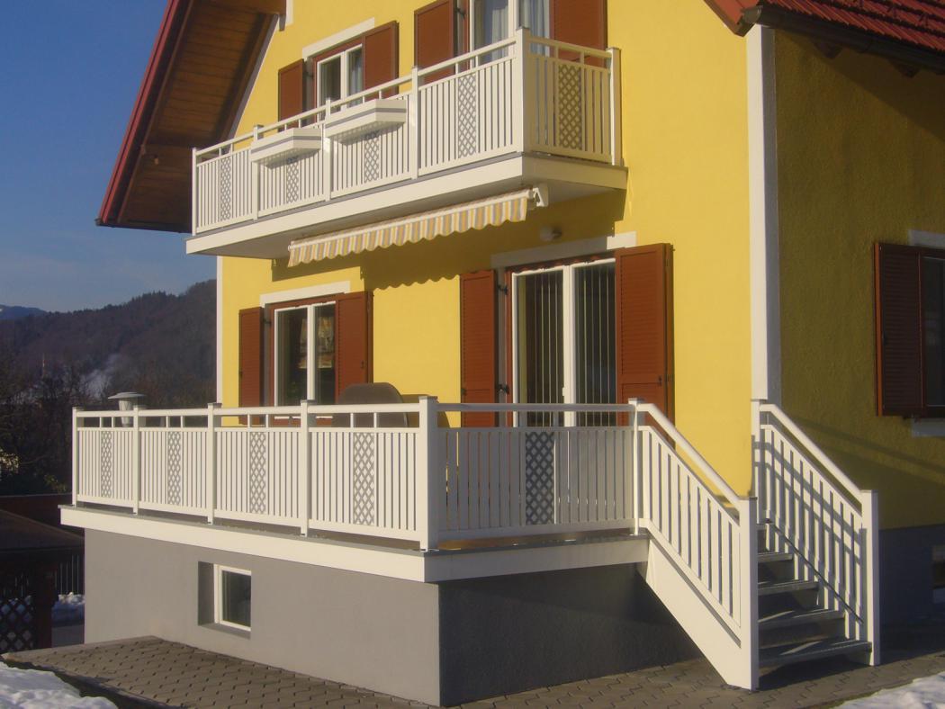 Aluminium Balkone in der Modellgruppe Kompakt in der Modellgruppe Kompakt mit der Nr 1266