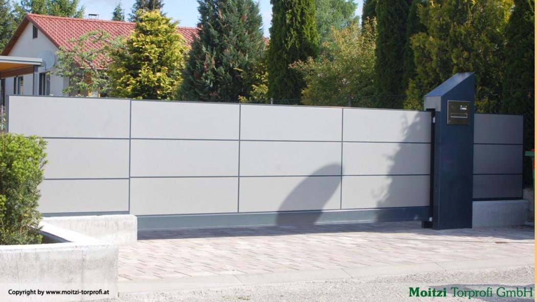 Aluminium Schiebetore in der Modellgruppe Design in der Modellgruppe Design mit der Nr 215