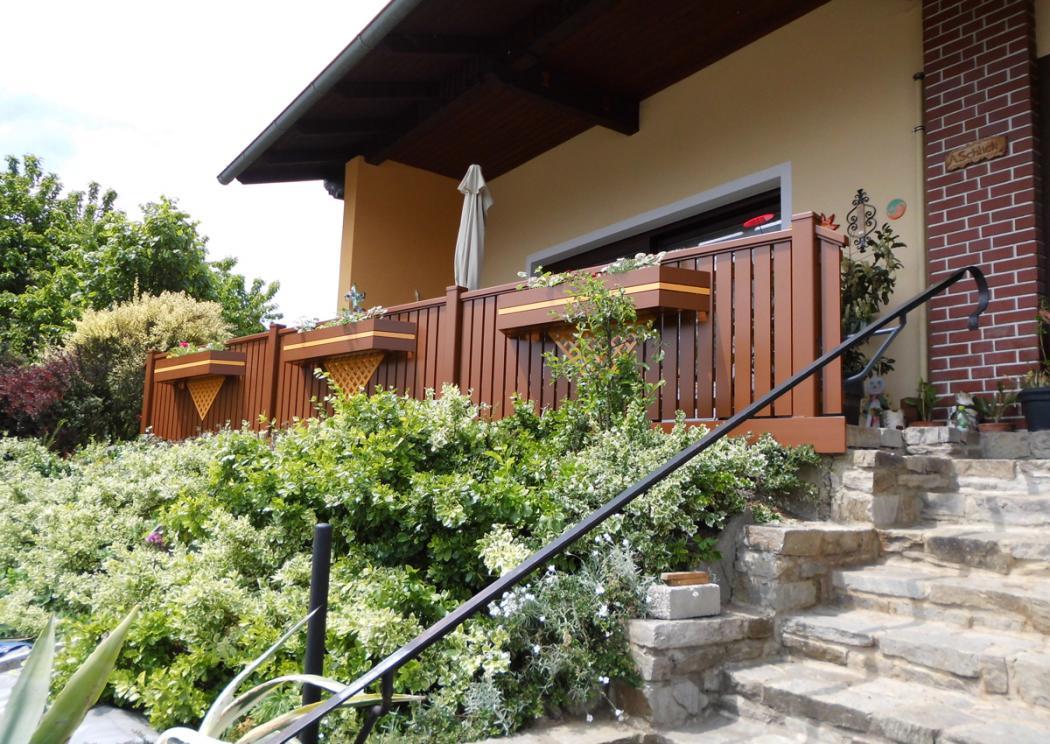 Aluminium Balkone in der Modellgruppe Elegant in der Modellgruppe Elegant mit der Nr 1099