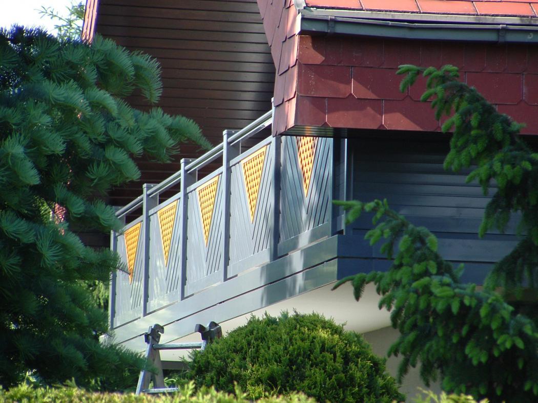 Aluminium Balkone in der Modellgruppe Elegant in der Modellgruppe Elegant mit der Nr 1207