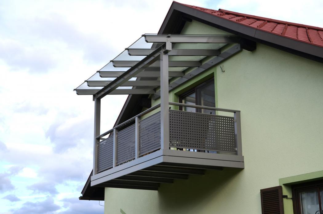 Aluminium Balkone in der Modellgruppe Design in der Modellgruppe Design mit der Nr 1396