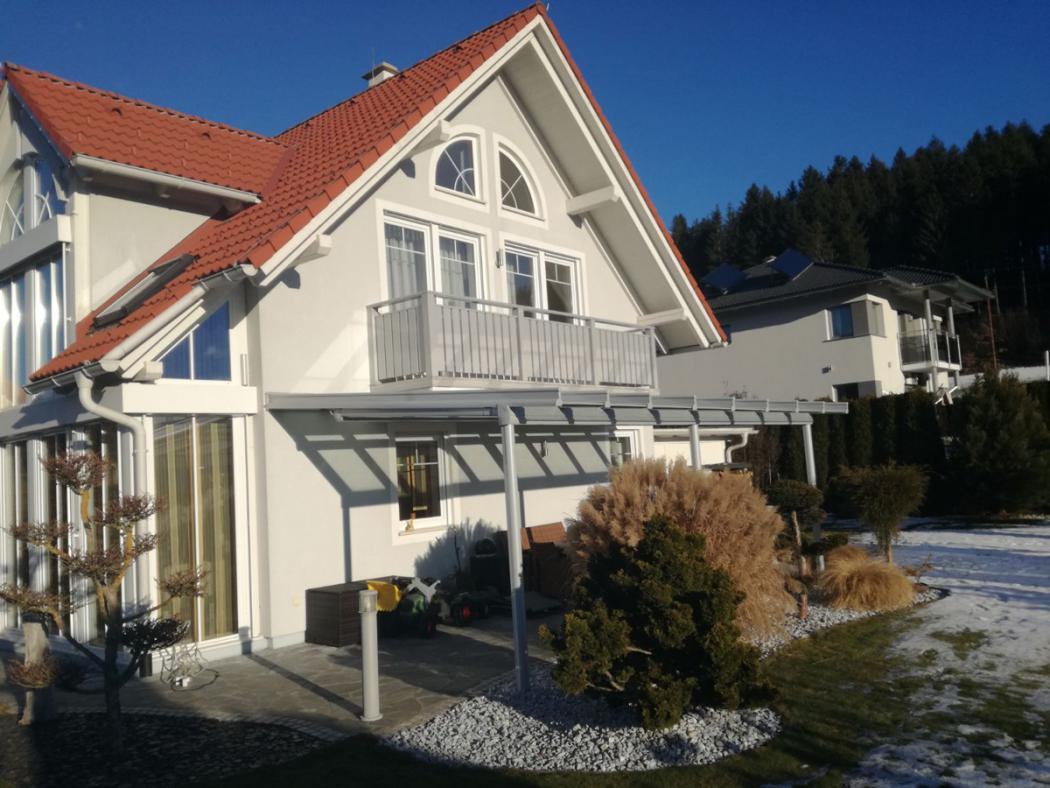 Aluminium Balkone in der Modellgruppe Kompakt in der Modellgruppe Kompakt mit der Nr 1538