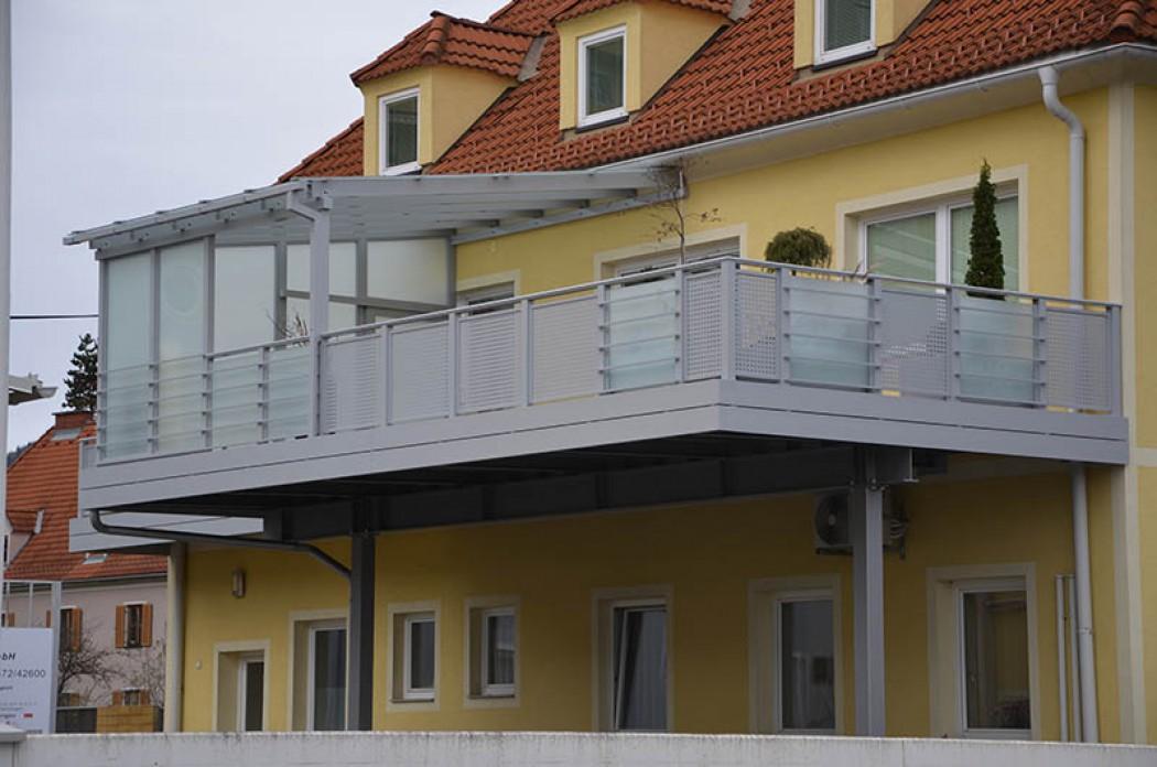 Aluminium Balkone in der Modellgruppe Design in der Modellgruppe Design mit der Nr 530