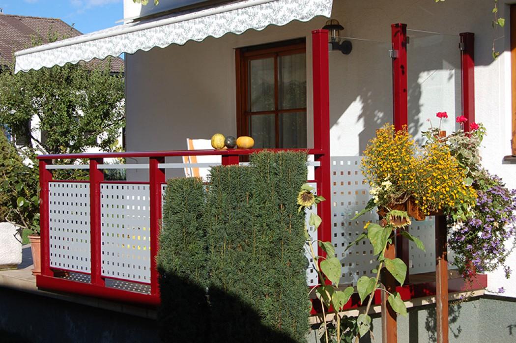 Aluminium Balkone in der Modellgruppe Design in der Modellgruppe Design mit der Nr 561