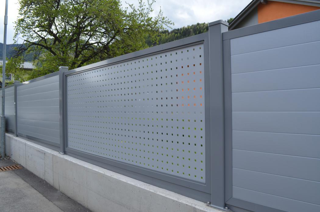 Aluminium Zäune in der Modellgruppe Design in der Modellgruppe Design mit der Nr 1456