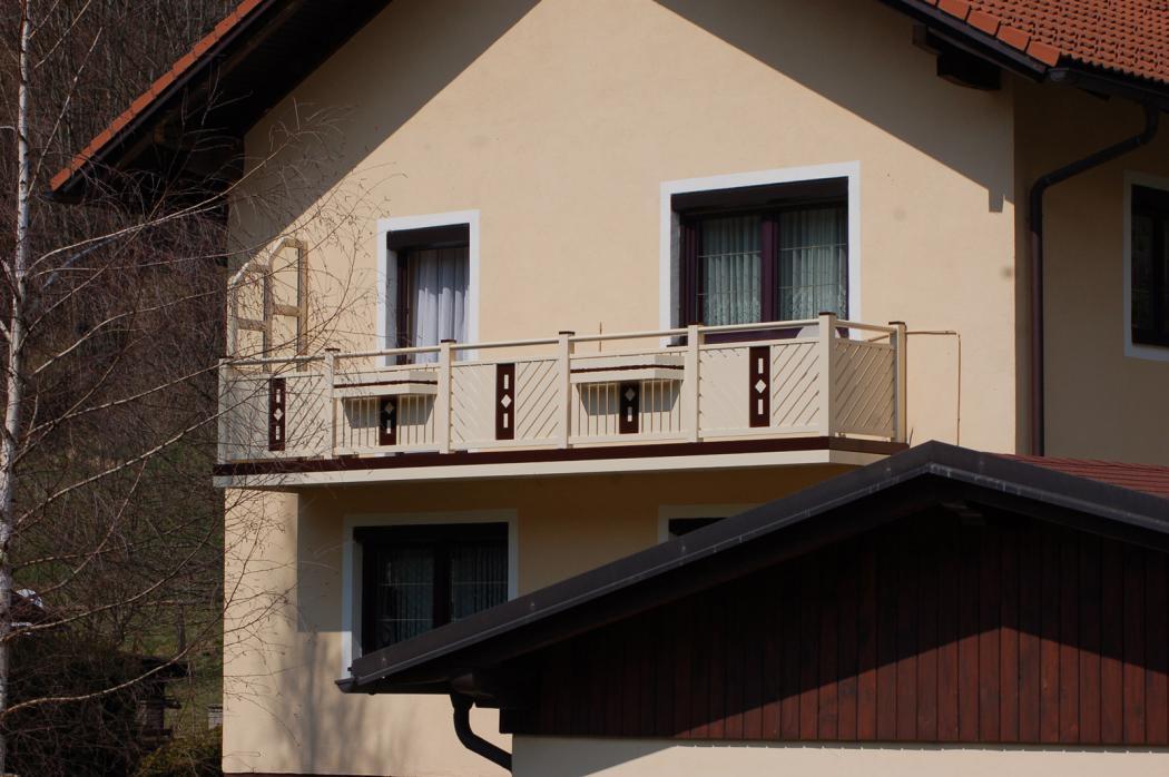 Aluminium Balkone in der Modellgruppe Kompakt in der Modellgruppe Kompakt mit der Nr 1265