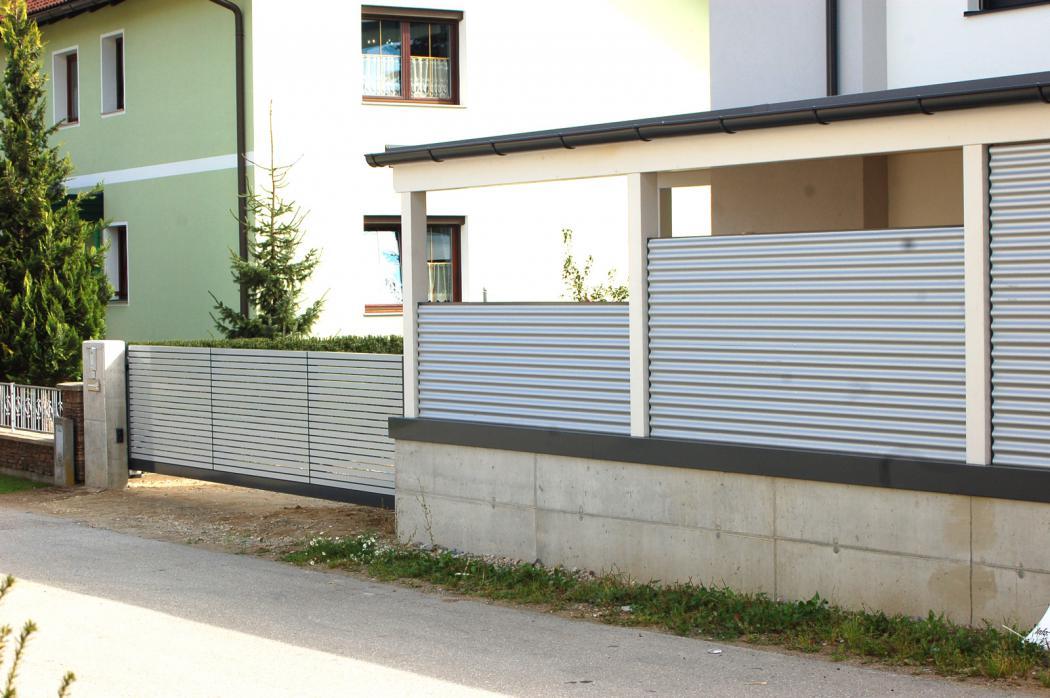 Aluminium Schiebetore in der Modellgruppe Design in der Modellgruppe Design mit der Nr 1355